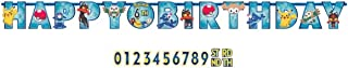 American Greetings Pokemon Add-an-Age Banner, 1 Pieces, Made from Vinyl, Birthday, by Amscan
