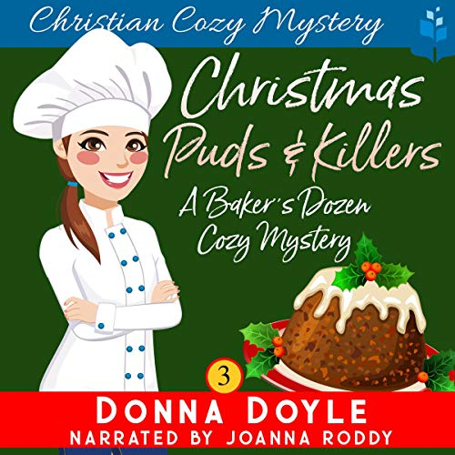 Christmas Puds and Killers: Christian Cozy Mystery  By  cover art
