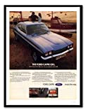 iPosters Ford Capri Blau Auto Werbung Print Memo Board,