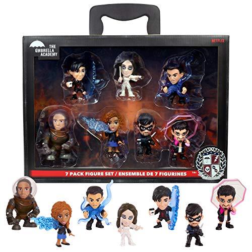 The Umbrella Academy 7-Pack Figure Set - Amazon Exclusive,...