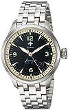 Zodiac Men's Jetomatic Swiss-Automatic Watch with Stainless-Steel Strap, Silver, 20 (Model: ZO9107)