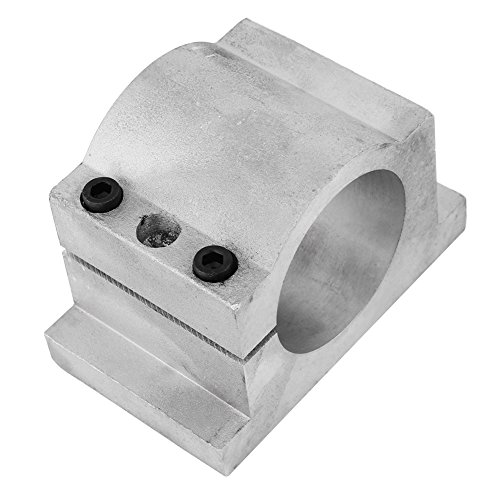 52/65mm Spindle Motor Bracket Cast Aluminium Mount Spindle Clamp Bracket for 3D printing CNC Engraving Millng Machine (65mm)