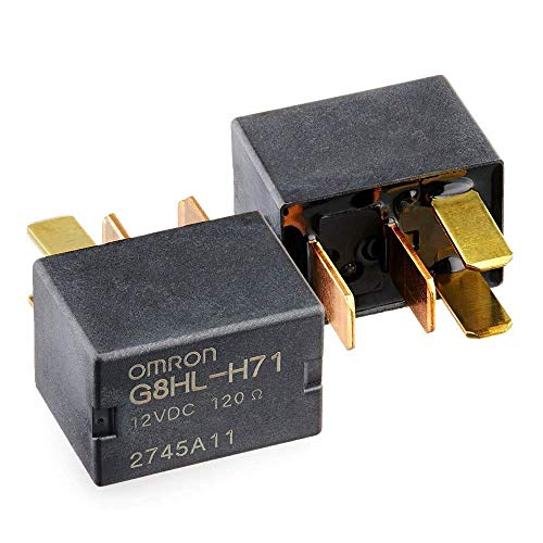 2 Pack G8HL-H71 AC Starter Relay 39794-SDA-A03 39794-SDA-A05 Compatible for CR-V CR-Z Crosstour Element Insight Odyssey Pilot Acura TL TSX MDX