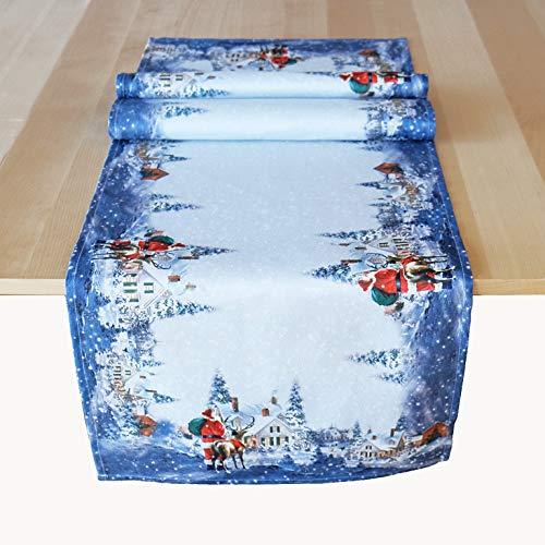 Kamaca Tischläufer 40x140 cm Weihnachtszeit hochwertiges Druck-Motiv EIN Schmuckstück in Winter Weihnachten (Läufer 40x140 cm)