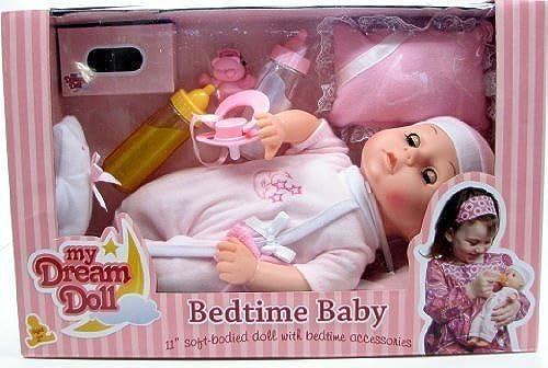 genuina alta calidad My Dream Doll Bedtime Baby, 11 inch Soft-Bodied Soft-Bodied Soft-Bodied Doll with Bedtime Accessories by My Dream Doll  los últimos modelos