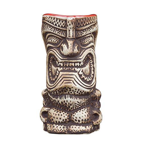 QLTY Taza de Cerveza de cerámica Creativa Retro (340 ml),Copa de cóctel,Vasos de Cerveza,Copa de cerámica para el hogar,Jarras de Cerveza,decoración de Copa de Vino