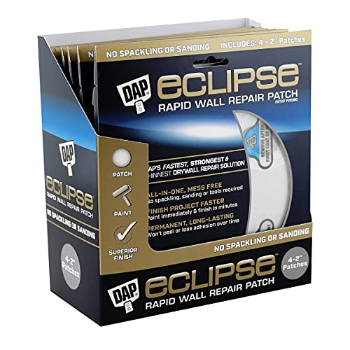 DAP 7079809161 2 in. Eclipse Rapid Wall Repair Patch - Pack of 6