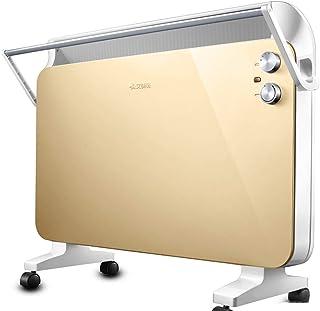 NAUY@ Independiente/montado en la Pared Calefactor Golden Panel, baño doméstico Calentador Calefactor Resistente al Agua Ahorro de energía 2200W Riscaldatori di spazio