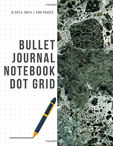 Bullet Journal Notebook Dot Grid: Cheap Composition Journals Books College Ruled To Write In Letter Paper Size 8.5 X 11 Volume 57