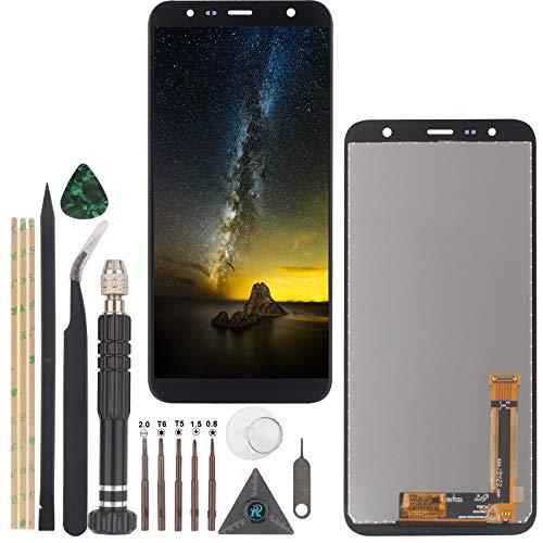 RongZy LCD Schermo per Samsung Galaxy J6 Plus J610/J4 Plus 2018 J415 Display Digitizer Assembly Vetro di Ricambio Touch Screen con Strumenti(Nero)