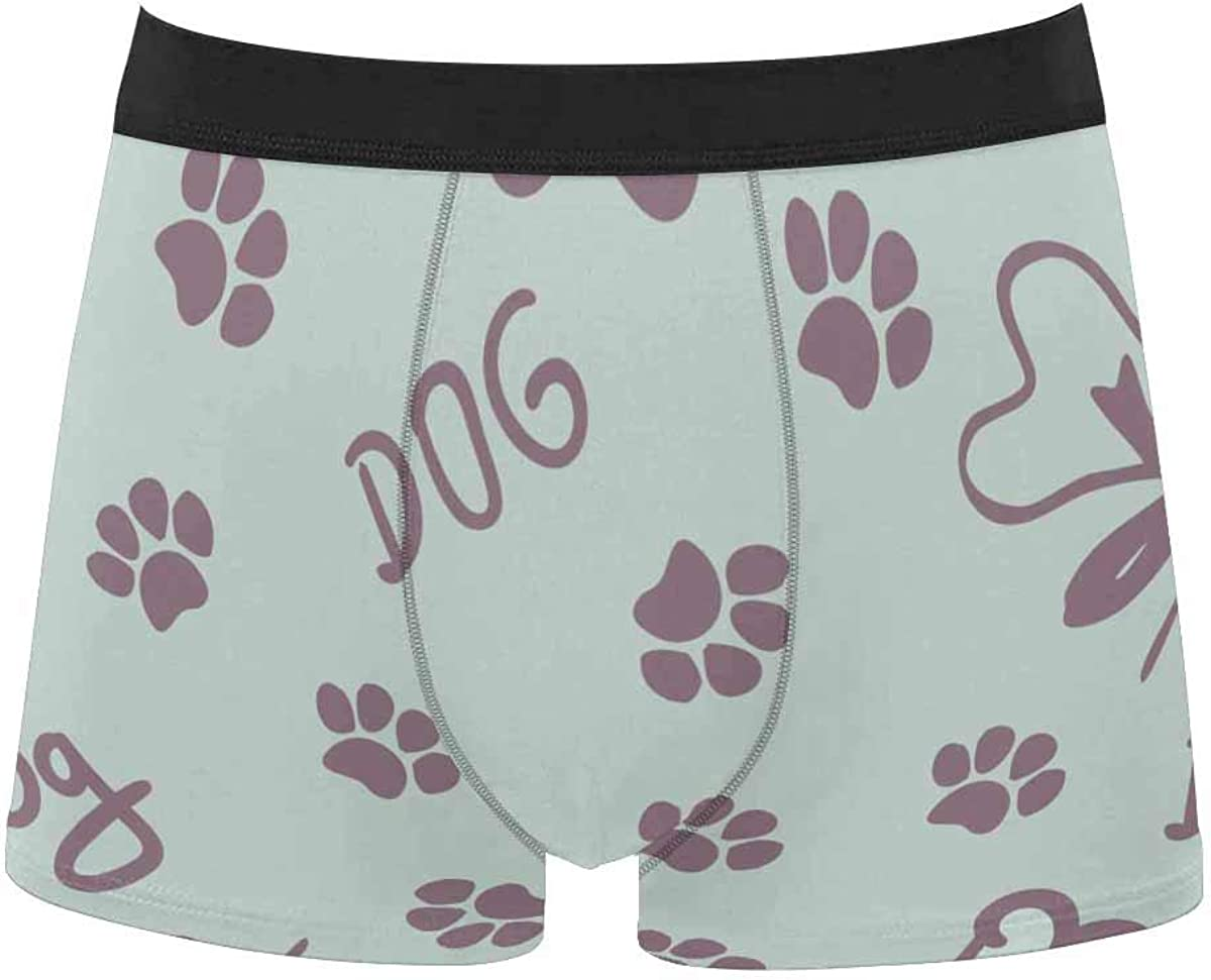 InterestPrint Men's Underwear Classic Fit Boxer for Youth Juniors Boys Bones and Balls Pattern