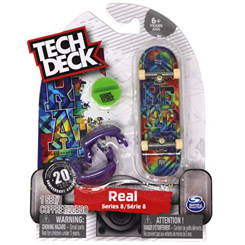 Tech Deck Real Skateboards Rare Series 8 Justin Brock Low Pro Fingerboard Buy Online In Cambodia At Desertcart Productid 97813315