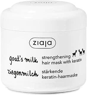 Ziaja Goat's Milk Strengthening Hair Mask with Keratin, 200ml/6.76oz