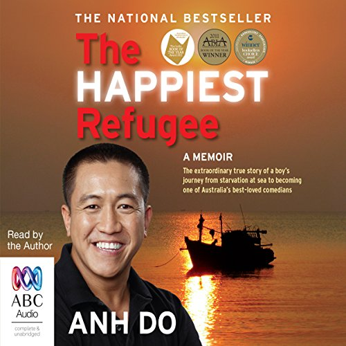 The Happiest Refugee audiobook cover art