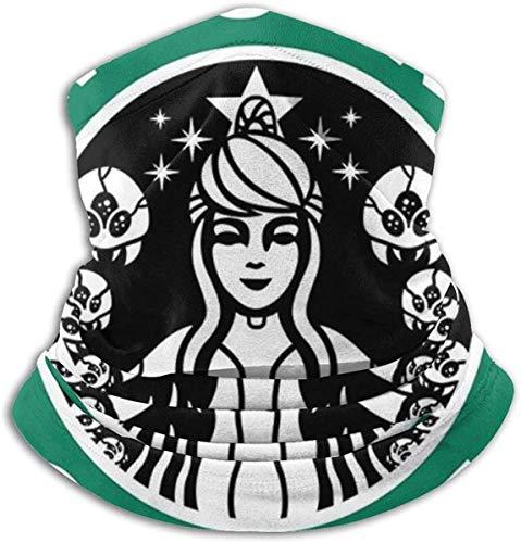 ngquzhe Metroid Starhunt Samus Aran Kaffee Gesichtsschutz Bandanas für Staub, im Freien, Festivals, Sport
