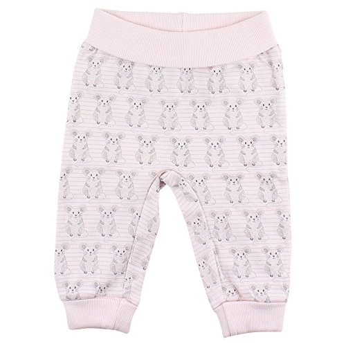 Fixoni Grow Pants Pantalon, Rose (02-10 Soft Rose 02-10), 74 cm Bébé Fille