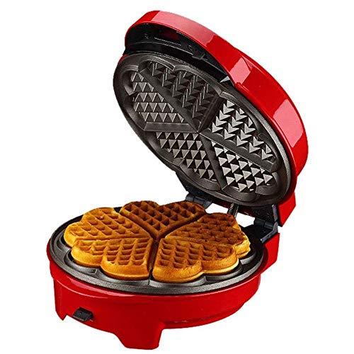 Wafleras Irons, sandwichera Panini Grill contactor Waffle hierro, 8 placas de aluminio reemplazable Grill, antideslizante, cubierta plástica, calefacción de doble cara, for las galletas, snacks 1125 W