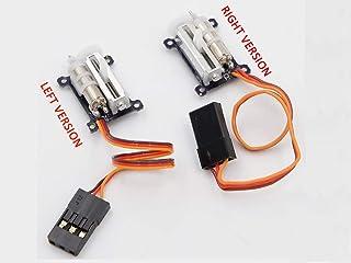 超軽量1.5g リニアサーボ左右セット ハンドランチGL マイクロ機など デジタル コアレス 1セル動作可能