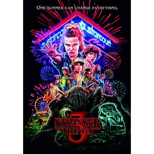 Frullu Poster Stranger Things 3 - Stranger Things - Formati Disponibili: 50x70cm e 70x100cm