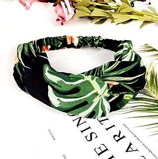 NoraHarry Femmes Imprimer Bandeaux été Bandeaux Crémeux Croix Turban Hairband Accessoires Cheveux Fille Accessoires (Color...