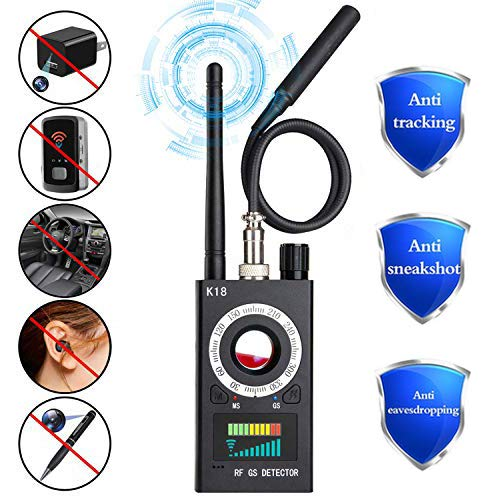 Big Save! Anti Spy RF Signal Detector, Wireless Hidden Camera Bug Detector Laser Lens GSM Audio Devi...