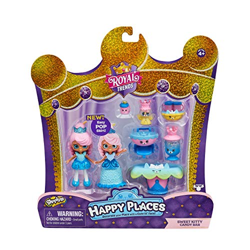 Shopkins Happy Places Welcome Pack - Sweet Kitty Candy bar