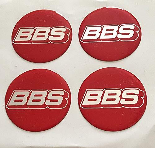 BBS ★4 Stück★ 70mm Aufkleber Emblem für Felgen Nabendeckel Radkappen