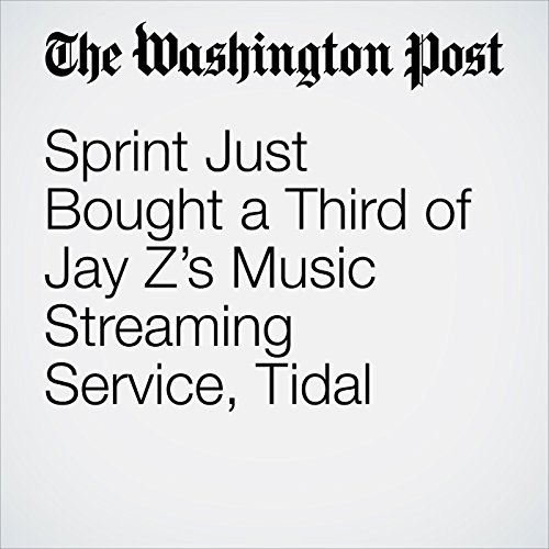 Sprint Just Bought a Third of Jay Z's Music Streaming Service, Tidal copertina