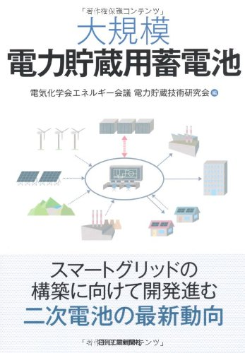 大規模電力貯蔵用蓄電池の詳細を見る