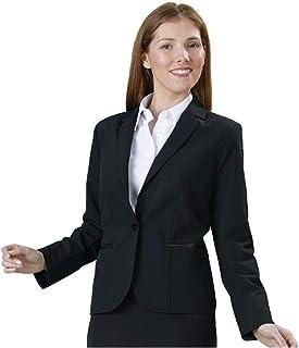 c0387a4d25c50 Veste Femme fermeture un bouton idéale Serveuse Hotesse Intérieur doublé