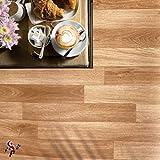 Pavimento in pvc effetto legno Altezza 200 cm pavimento pvc legno o piastrella per interno esterno PREZZO AL MQ! pavimento pvc parquet alta resistenza adatto a tutti gli spazi abitativi (NOCE H200)