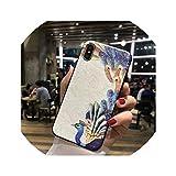 for iPhone7 8 for iPhone7P 8P、T3については6 6S-でハーフ、for iPhone用Xケース救済絵画マルチカラーバックケースのために中国のスタイルピーコック