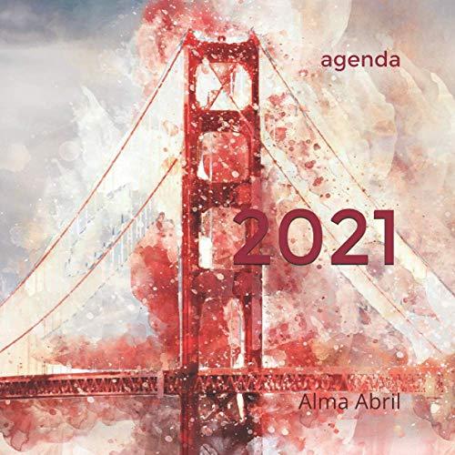 Agenda 2021 empresarial: semana vista, tamaño 21x21 (AGENDA 2021 semana vista GRAN FORMATO)