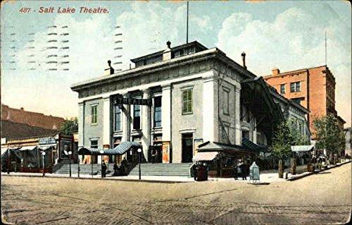 Salt Lake Theatre Salt Lake City, Utah UT Original Vintage Postcard 1917