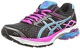 ASICS Gel-Pulse 7 - Zapatillas de Running para Mujer, Color Negro (Black/Turquoise/Pink Glow 9040), Talla 37.5