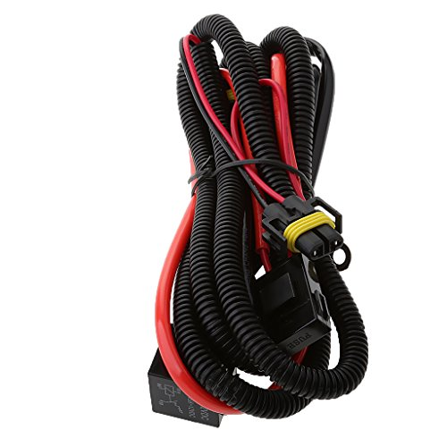 MagiDeal Xenon HID Conversion Kit Relay Wiring Harness H1 H3 H8 H9 H11 9005 9006 9140