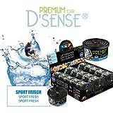 D ́Sense - Ambientador para coche y ambientador: Sport Fresh