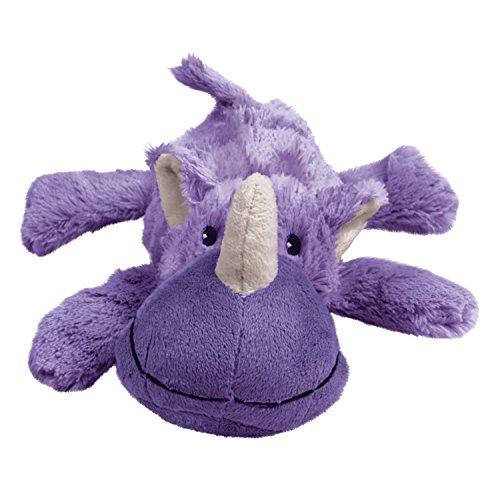 KONG - Cozie Rosie Rhino - Indoor Cuddle Squeaky...