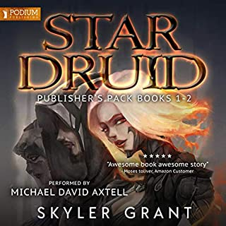 Star Druid: Publisher's Pack audiobook cover art