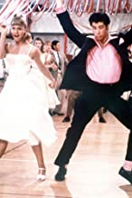 Olivia Newton-John and John Travolta in Grease 24x36 Poster dance up a storm at prom