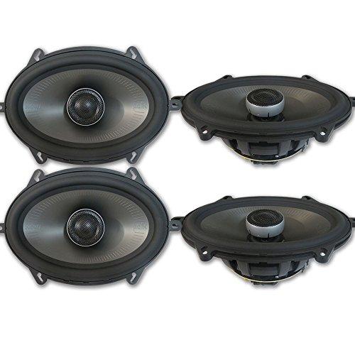 4 x Polk Audio MM 5x7 Inch 2-Way Car Audio Boat Motorcycle Ultra Marine Speakers 5x7