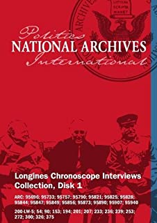 Longines Chronoscope Interviews Collection Set