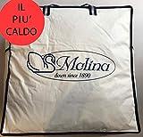 Sofficepiuma.it Molina by Piumino D' Oca Siberiano Gilda Extra Warm 5 Stelle ***** Massimo Calore Prodotto in Esclusiva per soffice Piuma.it (250x220 Matrimoniale King)