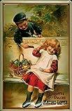 Matias Lopez Chocolates Infantil 1907 Letrero de Metal Signo de Metal de hoja Metal Metal Lata Firmar 20 x 30 cm