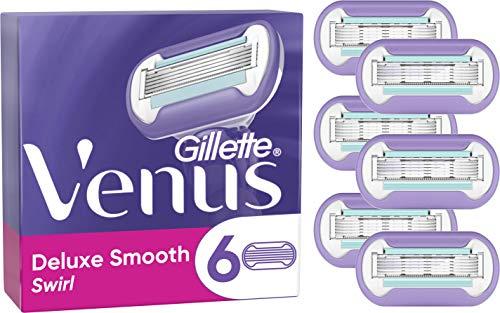 Gillette Venus Swirl - Lamette per rasoio, confezione da 3, 6 Pack Refills