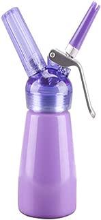 N2O Aluminum Whipped Cream Dispenser, Homemade Whipped Cream Maker (Purple)
