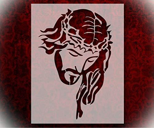 Rubstamper Stencil Jesus Christ Crown Thorns 8.5