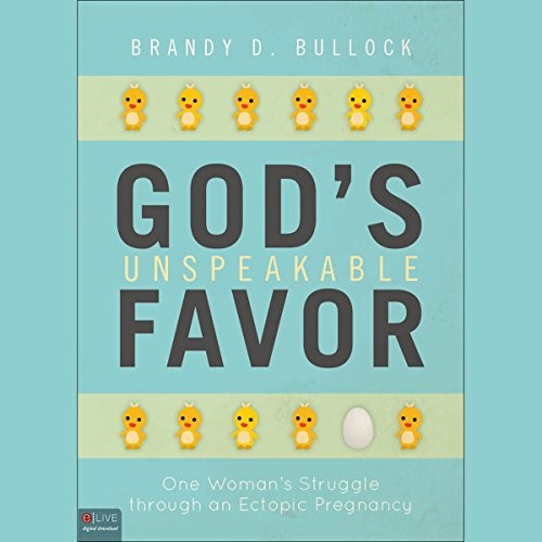 God's Unspeakable Favor cover art
