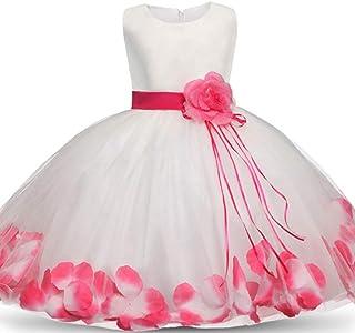 AIOJY Falda de niña de Las Flores Ropa de cumpleaños para niños Vestido de Noche Vestido de Fiesta para niños pequeños Reg...