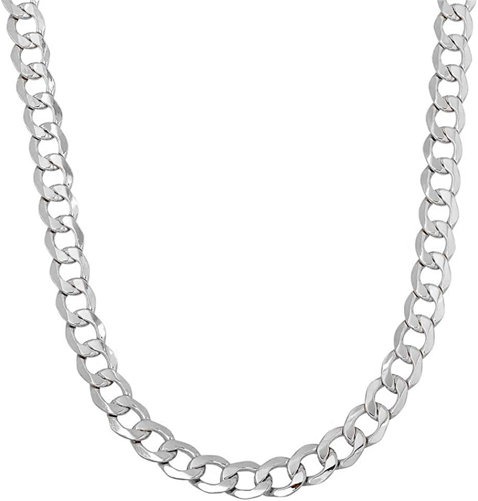 Verona Jewelers 925 Sterling Silver 3MM 7MM C 3.5MM Curb Spasm price 5MM Over item handling ☆